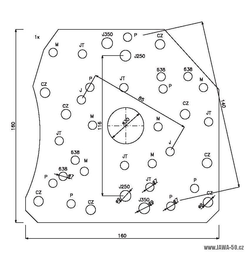 Univerzalni Pripravek Pro Puleni Motoru Cs Vyroby Jawa 50 Pionyr