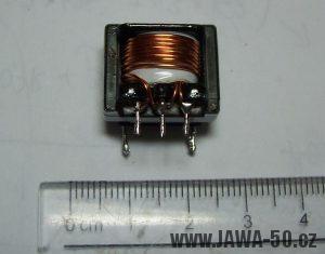 Tyristorové CDI zapalování V1.1 - převinutý transformátor