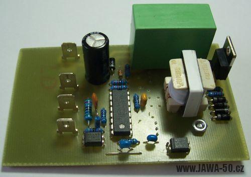 Tyristorové 12V CDI zapalování V1.1