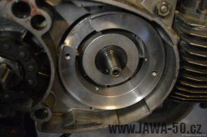 Namontovaný adapter zapalování Vape (Jawa 50)