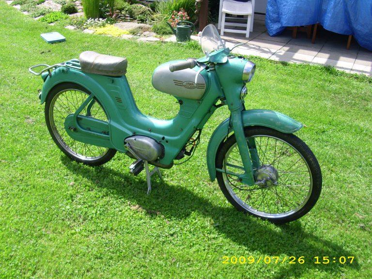 Moped Jawetta Sport z roku 1960