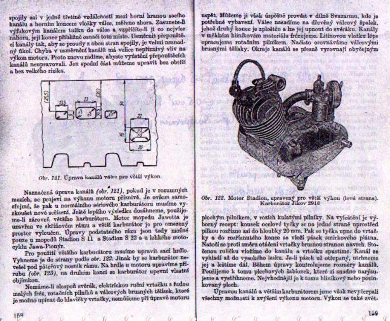 Návod na úpravu motoru Stadion (Jawa 552) - strana 1