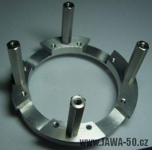 Čtyřpólový stator zapalování Jawa 50 Pionýr - verze 2 (hotový výrobek)