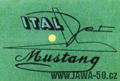 Logo Ital Jet Mustang (Jawa 50)