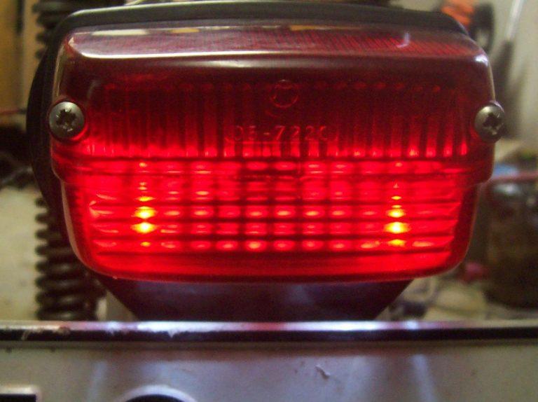 LED koncové světlo Jawa 50
