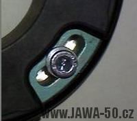 Uchycení statoru Vape (Jawa 50)